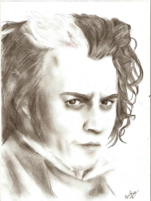 Johnny Depp by NollaFae